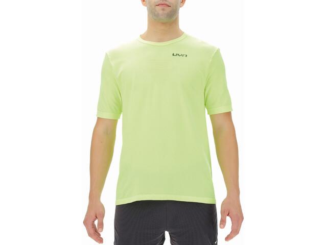 UYN Airstream Shortsleeve Running Shirt Men yellow fluo